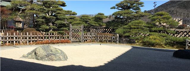 五十鈴茶屋の日本庭園(枯山水)