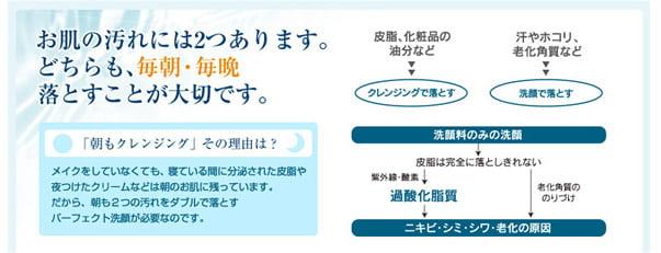 20110816_ハウスオブローゼ_朝クレンジング